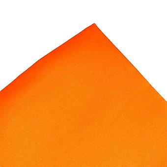 Solmiot Planet Plain Tangerine Oranssi Tasku neliö Nenäliina