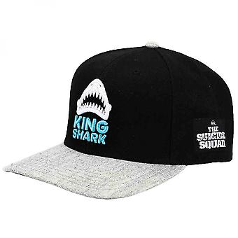 DC Comics The Suicide Squad King Shark Pre-Curved Snapback Hat