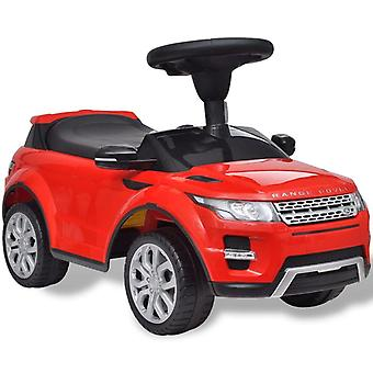 Land Rover 348 Kids Ride-on Car with Music Red Children Toy Vehicle