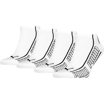 بوما الرجال والنساء أحذية رياضية 4 حزمة الترويجي رياضي الكاحل الجوارب