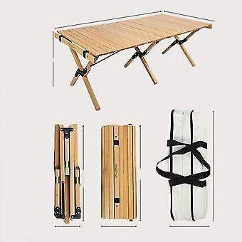 שולחן עץ קמפינג אשור