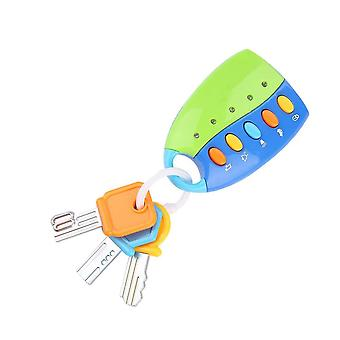 Musical Car Key Baby Pretend Education Toys With Sound Light