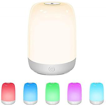 Children's Touch Night Light, Dimmable Night Light, Rechargeable Warm White Rgb Color Changing Night Light, 72-hour Bedroom Operation