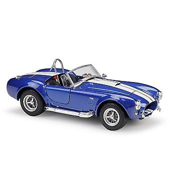 Toy cars 1:24 427 classic car static die cast collectible model car toys christmas gifts toy vehicles blue