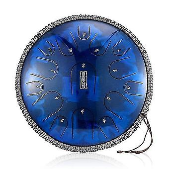 Drum kits 13 inch 15 tone steel tongue drum hand drum d tone ethereal drum yoga meditation percussion