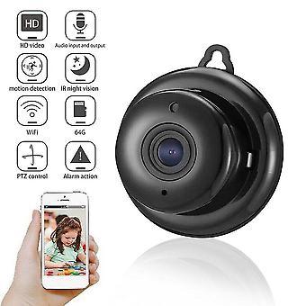 V380 mini wifi 1080p kamera langaton cctv infrapuna yönäkö vauvamonitori havaitsee 2-tie video
