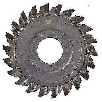 Wolfraam staal 60 * 16 * 6 mm grove tand sleutel snijden machine blade 22t cutter slotenmaker gereedschap