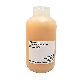 Davines liefde Smoothing Shampoo (oorspronkelijke roze formule), 16.9 oz / 500ml
