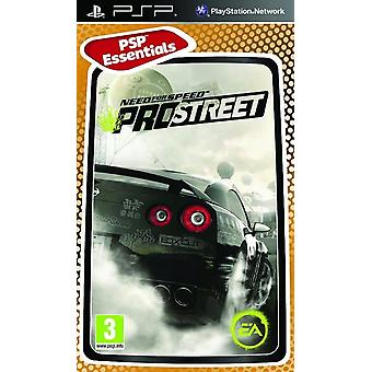 Need for Speed Pro Street Essentials Edition Sony PSP Game