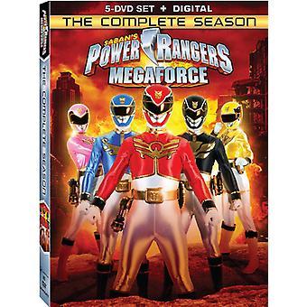 Power Rangers Megaforce: The Complete Season [DVD] USA import