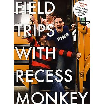 Recess Monkey - Field Trips with Recess Monkey #5-8 [DVD] USA import