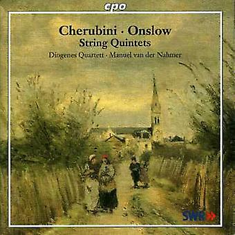 Onslow/Cherubini - Cherubini, Onslow: importación de USA de cuartetos [CD]