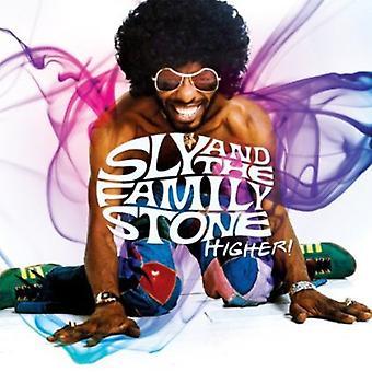 Sly & the Family Stone - plus élevé! Meilleur de l'import USA zone [CD]