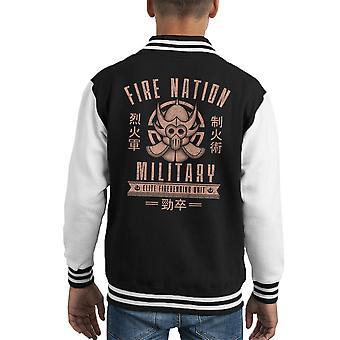 Fire Is Fierce The Legend Of Korra Kid's Varsity Jacket