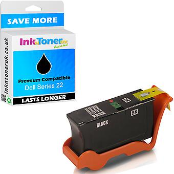 Cartuș de cerneală compatibil Dell Series 22 Black 592-11328 pentru V715W