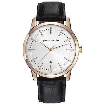 Pierre Cardin Herre ur armbåndsur ALFORT læder PC901861F02