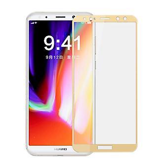 3D premium 0.3 mm wygięte H9 szkło folia złota dla Huawei Mate 10 Lite nowe