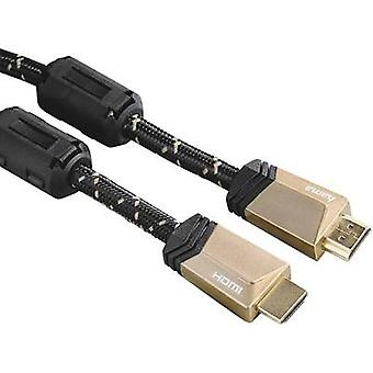 Hama HDMI-kabel [1 x HDMI-plug - 1 HDMI kontakt] 1,5 m svart