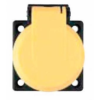 ABL Sursum 1561030 Flush-mount socket IP54 Yellow