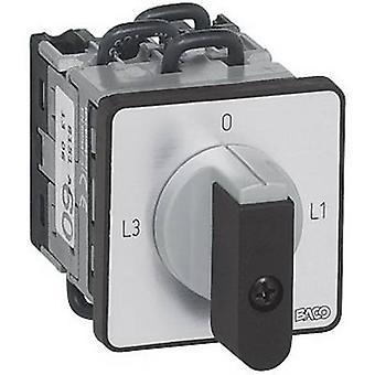 BACO NY11AQ1 amperemeter övergången switch 16 a 2 x 90 ° grå, svart 1 dator