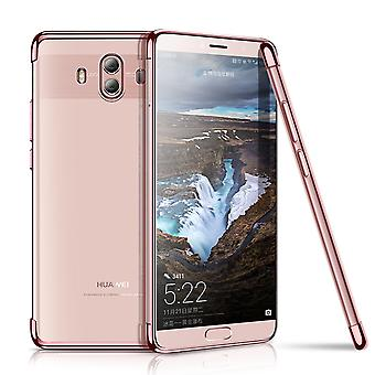Cell phone cover case for Huawei mate 10 Lite translucent transparent rose pink