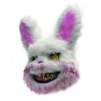 Maske Korku Bunny Halloween Bunny Unsisex Yetişkin Maskesi