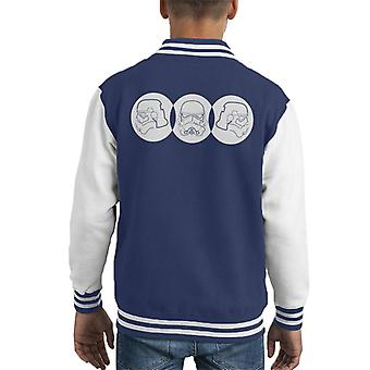 Original Stormtrooper Linie Art Trio Kid Varsity Jacket