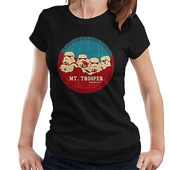 Original Stormtrooper Mt Trooper Rushmore Women's T-Shirt