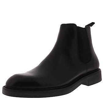 Mens Vagabond Alex M leder Lace Up zwart Fashion slimme enkel laarzen