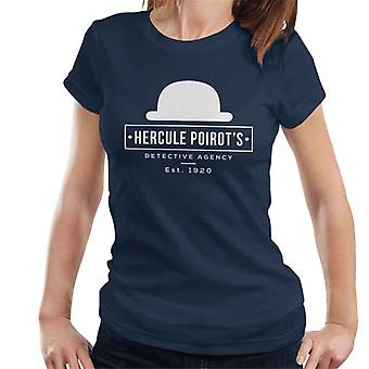 Herkules Poirots etsivätoimisto naisten t-paita