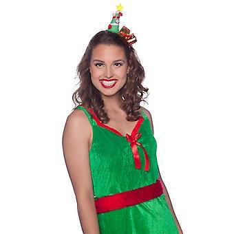 Otsapanta joulukuusi lahjoja joulu nainen puku