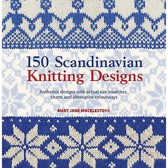 150 Scandinavian Knitting Designs - Authentic Designs with Actual Size