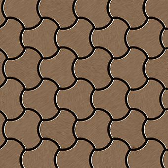 Kovová mozaika titanové slitiny-ti-AB