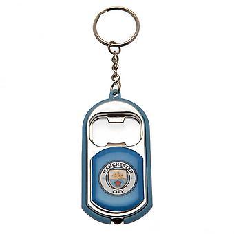 Manchester City FC nøglering fakkel oplukker