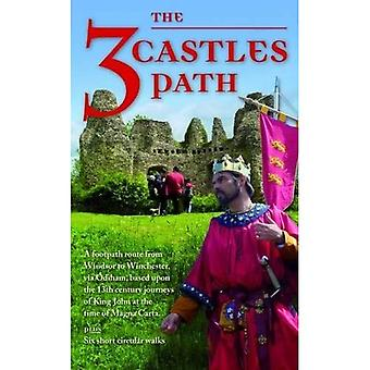 The 3 Castles Path: Footpath Route from Windsor to Winchester based upon the 13th- Century Journeys of King John...