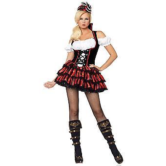 Verleidelijke piraat volwassen vrouw kostuum