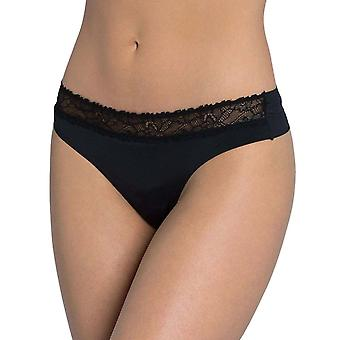 Sloggi Wow Lace String kort zwart (0004) Cs