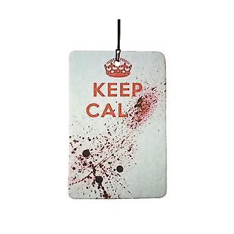 Holde ro blod Splatter bil Air Freshener