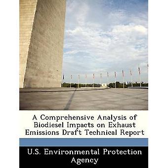 En omfattende analyse af Biodiesel virkninger på udstødningen emissioner udkast til tekniske rapport af US Environmental Protection Agency