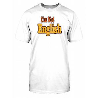 Jeg er ikke dansk - citerer sjove Herre T-shirt