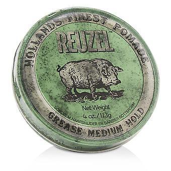 Reuzel Green Pomade (grease Medium Hold) - 113g/4oz
