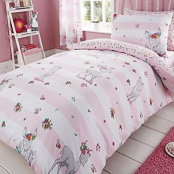 Oh Deer Childrens Single Duvet Cover