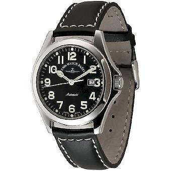 Zeno-watch mens watch Ghandi pilot automatic 8112-a1