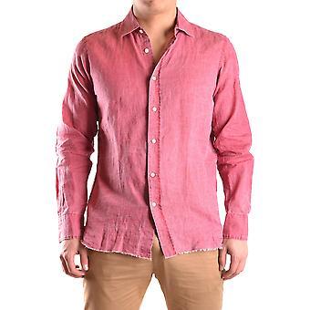 Coast Weber Ahaus Ezbc232002 Men's Red Linen Shirt