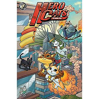 Hero Cats of Stellar City - Year One Hardcover by Kyle Puttkammer - 97