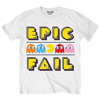 Pac Man Epic Fail T-Shirt - White/Yellow