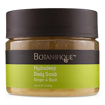 Botanifique Hydradeep Body Scrub - Ginger & Basil - 350ml/11.8oz