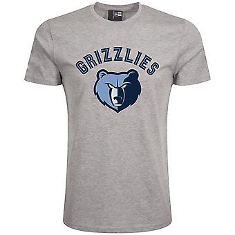 Новая эра Основные Рубашка-НБА Мемфис Гриззлис Грей