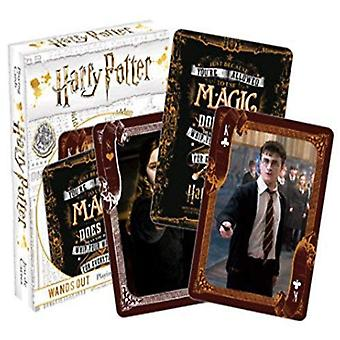 Harry Potter Wands Out Playing Cards