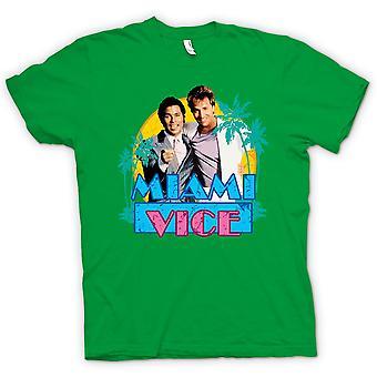 Мужская футболка - Майами - Крокетт и Таббс